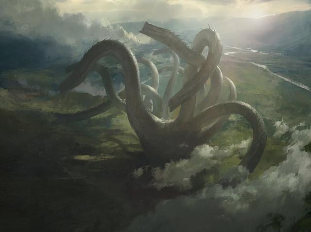 General 1920x1428 artwork fantasy art hydra Mazert Young creature ArtStation