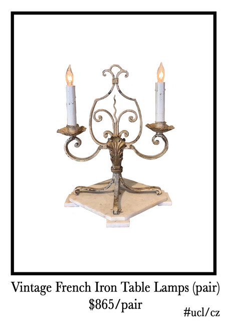 french-iron-table-lamps-on-marble