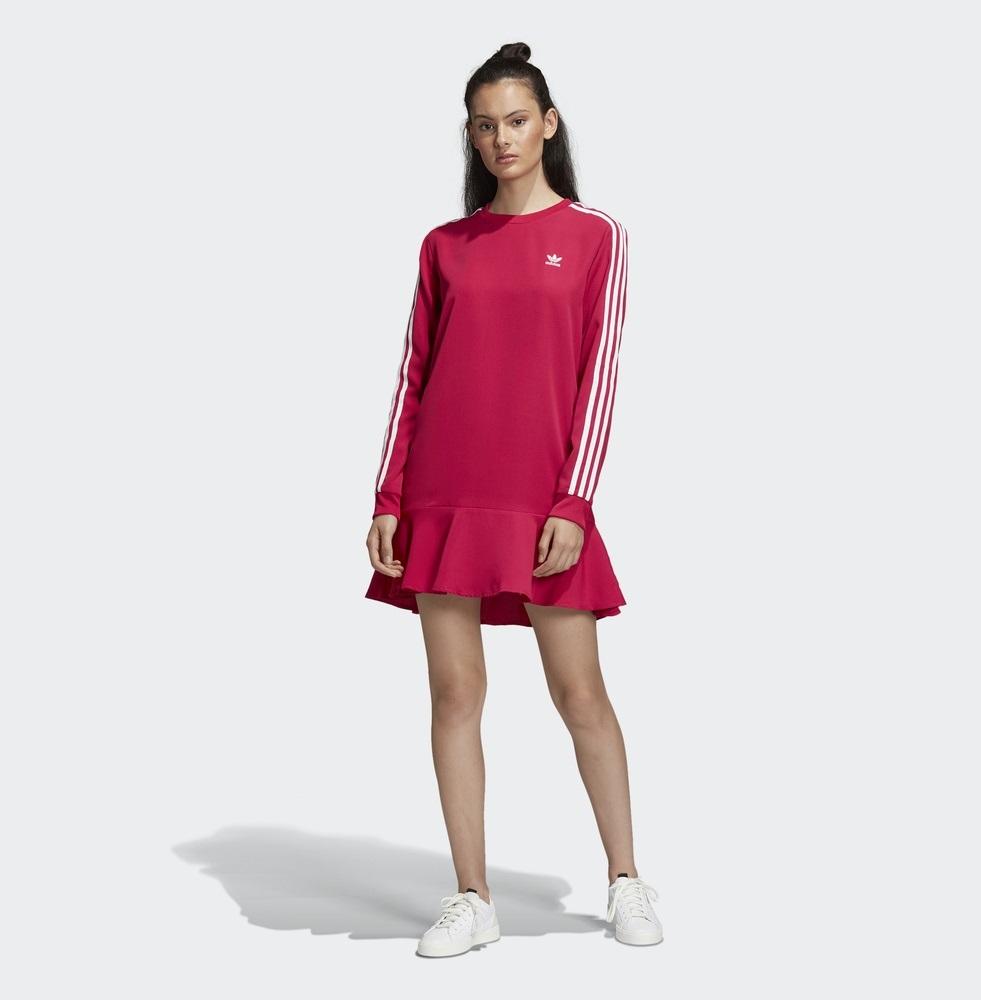 neu adidas originals 2019 kleid stolz pink frauen tennis