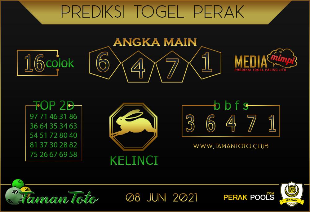 Prediksi Togel PERAK TAMAN TOTO 08 JUNI 2021