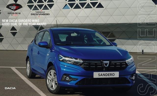 Nouvelle Dacia Sandero Remporte Le Prix Good Deal Des Automobile Awards NOUVELLE-DACIA-SANDERO-REMPORTE-LE-PRIX