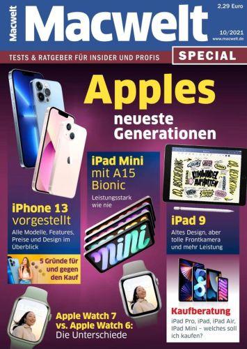 Cover: Macwelt Magazin Special No 10 Oktober 2021