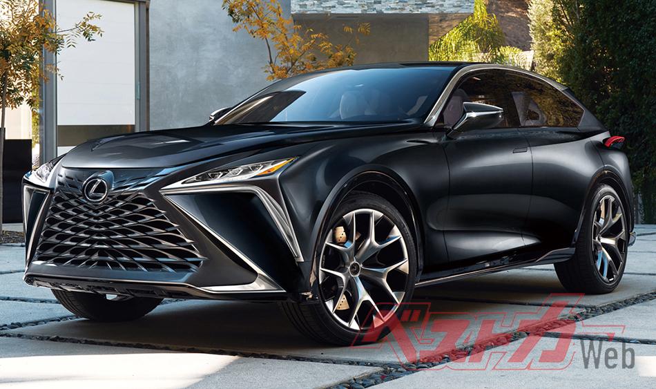 2021 Lexus LF 3