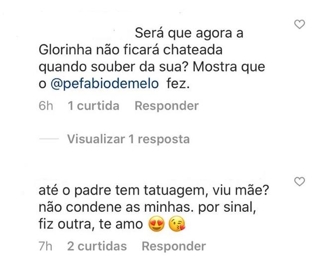 """Padre Fábio de Melo faz tatuagem e recebe críticas na internet; """"isso é coisa do diabo"""" 4"""