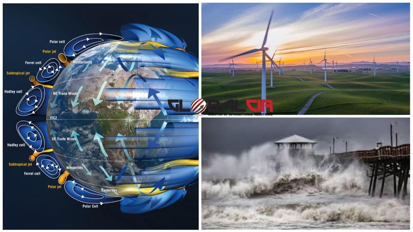 KRETANJA VAZDUHA: Kako nastaju vjetrovi?