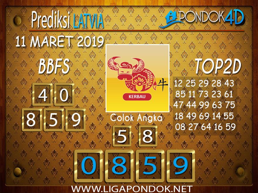 Prediksi Togel LATVIA PONDOK4D 11 MARET 2019