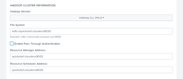 splunk provider configuration