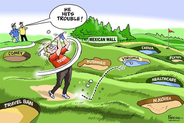 trump-in-Golf-Course