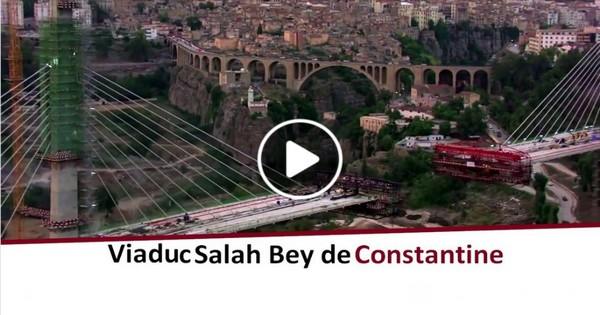 Pont à haubans Salah Bey de Constantine