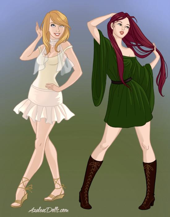 10 - Elfquest Dolling Thread 2 - Page 3 Covergirls-by-Azaleas-Dolls