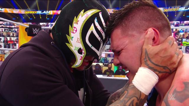 Seth venció a Dominik en SUmmerSlam
