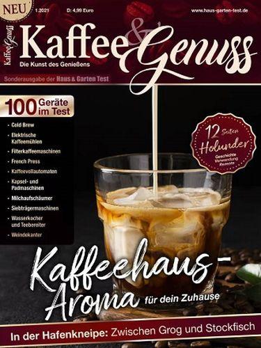 Cover: Haus und Garten Kaffee & Genuss Magazin No 01 2021