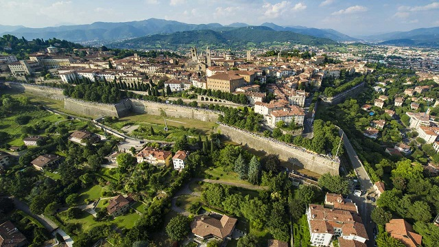 Bergamo, Lombardy: Six Months on from the COVID 19 Lockdown