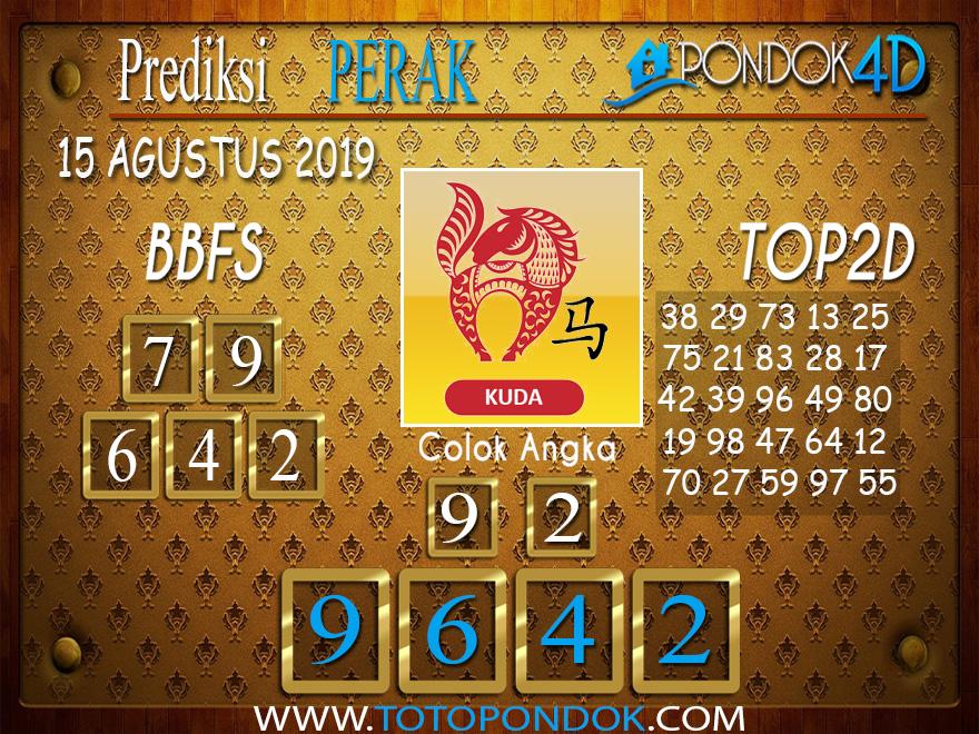 Prediksi Togel PERAK POOLS PONDOK4D 15 AGUSTUS 2019