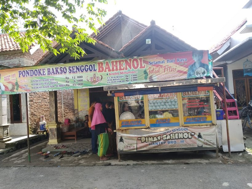 Pondoke Bakso Senggol Bahenol