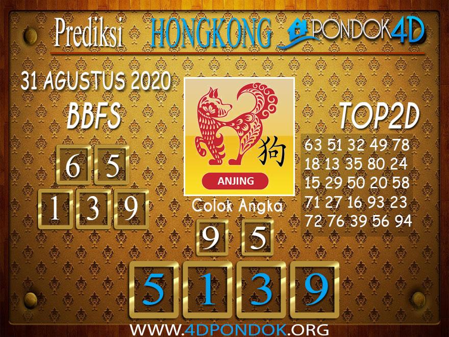 Prediksi Togel HONGKONG PONDOK4D 01 SEPTEMBER 2020