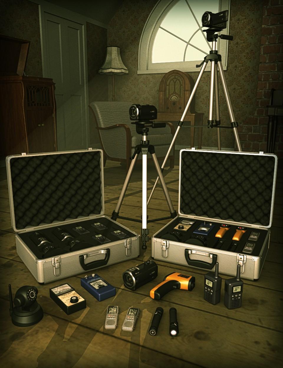 Ghost Hunter Equipment