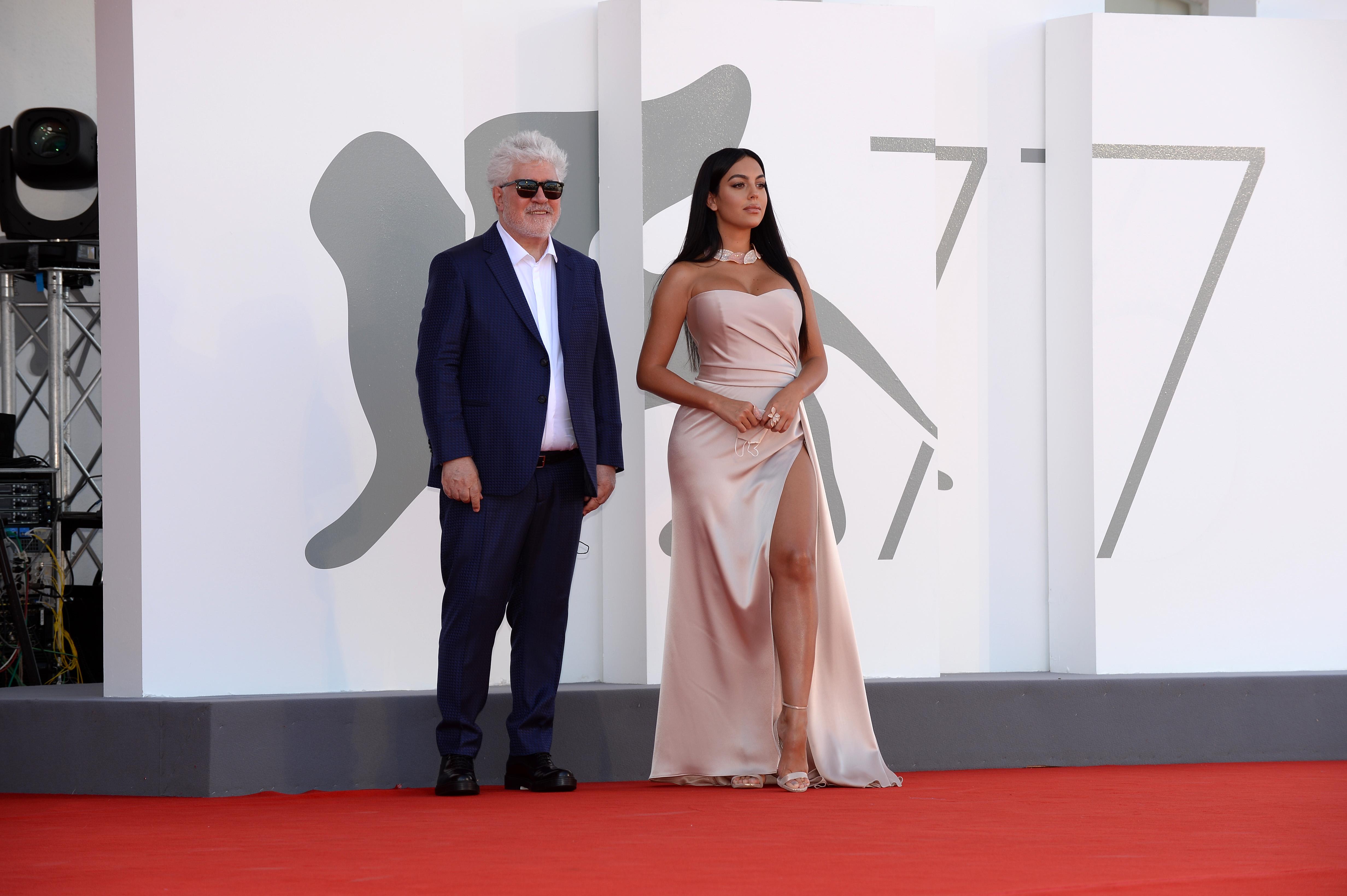 Georgina Rodriguez venezia