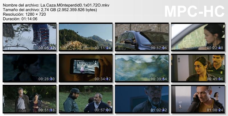 La Caza. Monteperdido (2019)[T.1][HDTV 720p][Castellano][4/-][2.7GB][VS]