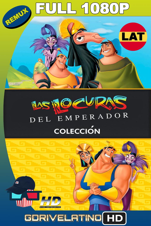 Las Locuras del Emperador (2000-2005) Colección BDRemux 1080p latino-ingles MKV