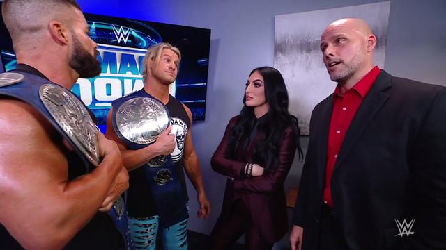 Dolph Ziggler y Robert Roode Elimination Chamber Adam Pearce SmackDown 12 Febrero