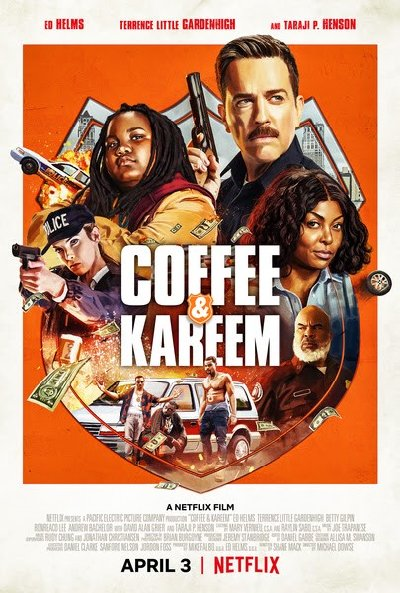 Coffee and Kareem (2020) English HDRip 720p x264  900MB Soft ESub DL