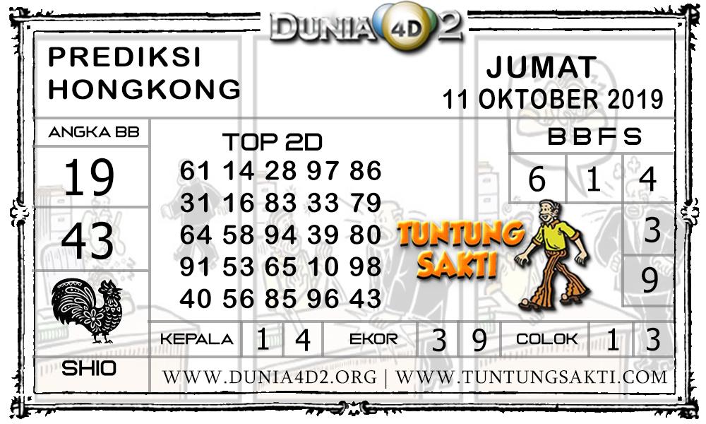 """Prediksi Togel """"HONGKONG"""" DUNIA4D2 11 OKTOBER 2019"""