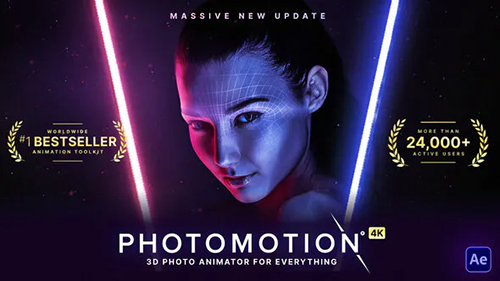 Photomotion - 3D Photo Animator (6 in 1) 13922688 - Project for After Effects (Videohive)