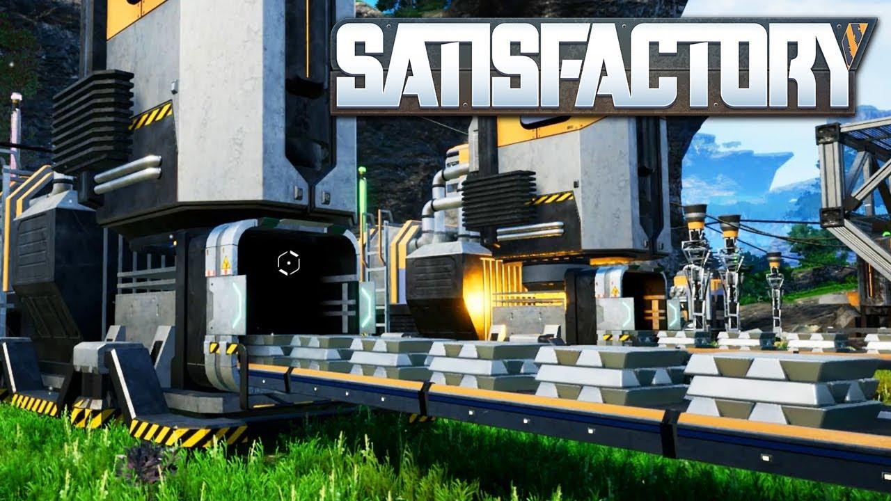 Satisfactory - где строить базу?