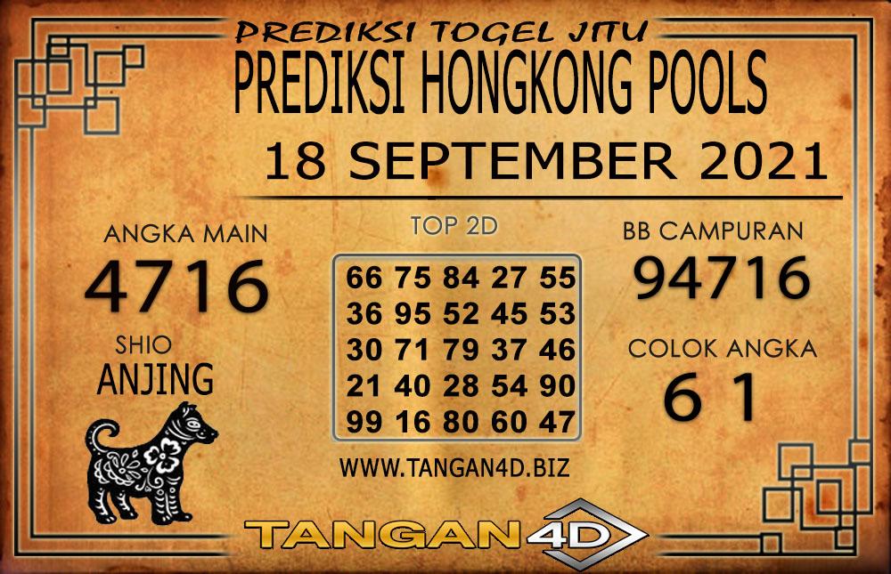 PREDIKSI TOGEL HONGKONG TANGAN4D 18 SEPTEMBER 2021