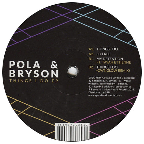 Download Pola & Bryson - Things I Do EP mp3