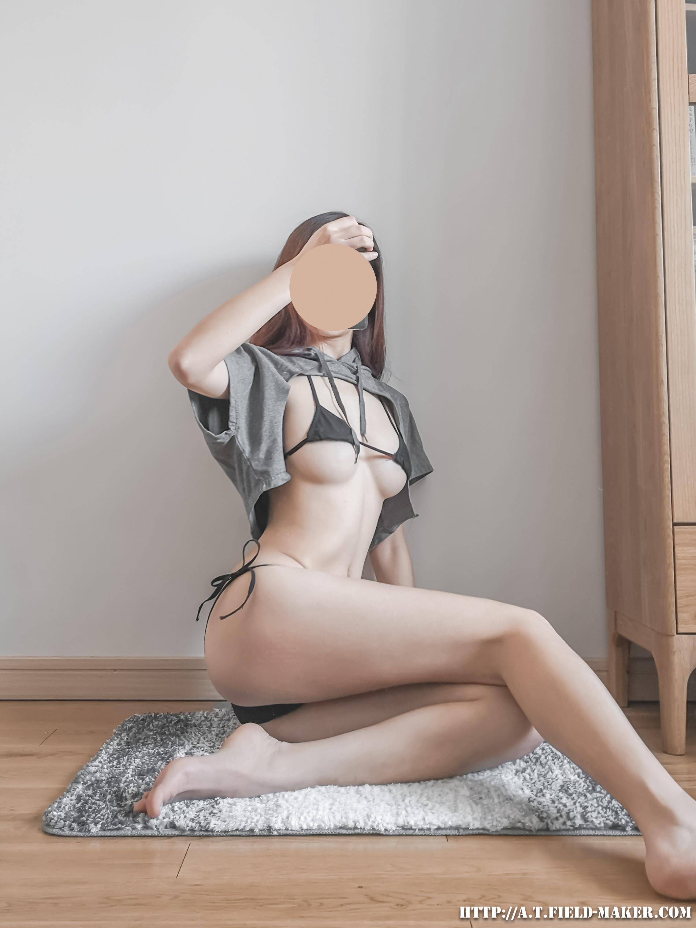 Tsubaki Album Selfie vol.008 Cloak bikini 昼と夜 005