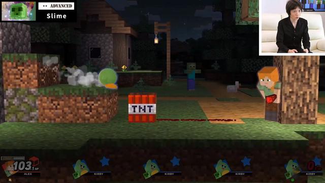 《任天堂明星大亂鬥 特別版》「Steve & Alex」製作人櫻井政博帶來的詳細介紹影像和實機遊玩畫面。 Image