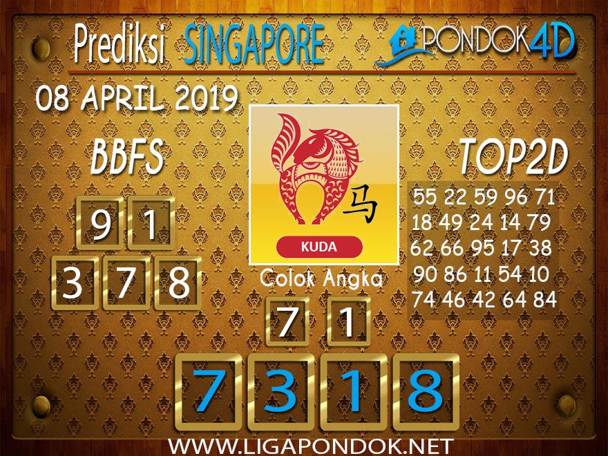 Prediksi Togel SINGAPORE PONDOK4D 08 APRIL 2019