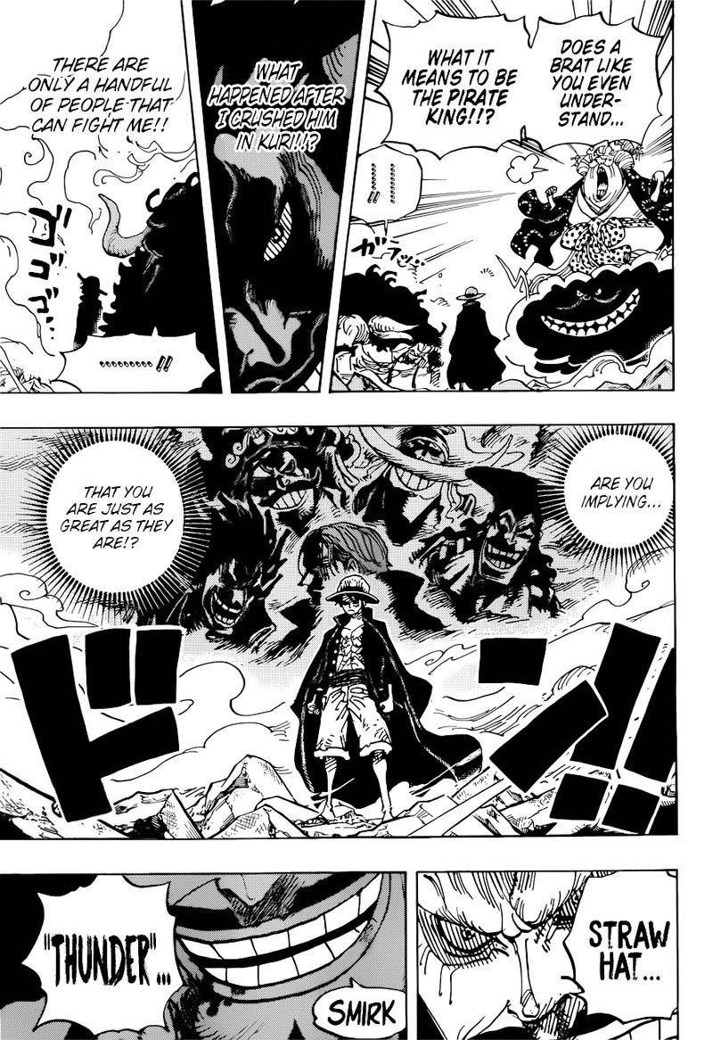 one piece manga chapter 1001 - 003
