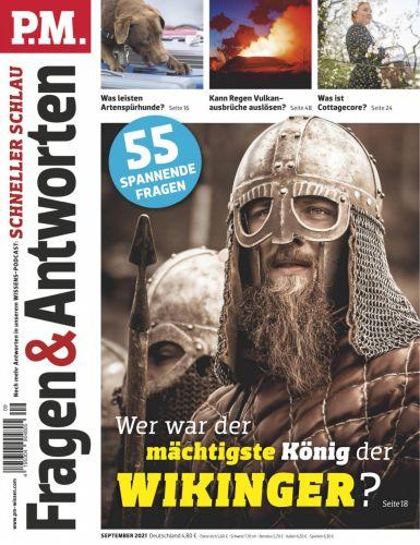 Cover: P M  Fragen & Antworten Magazin No 09 September 2021