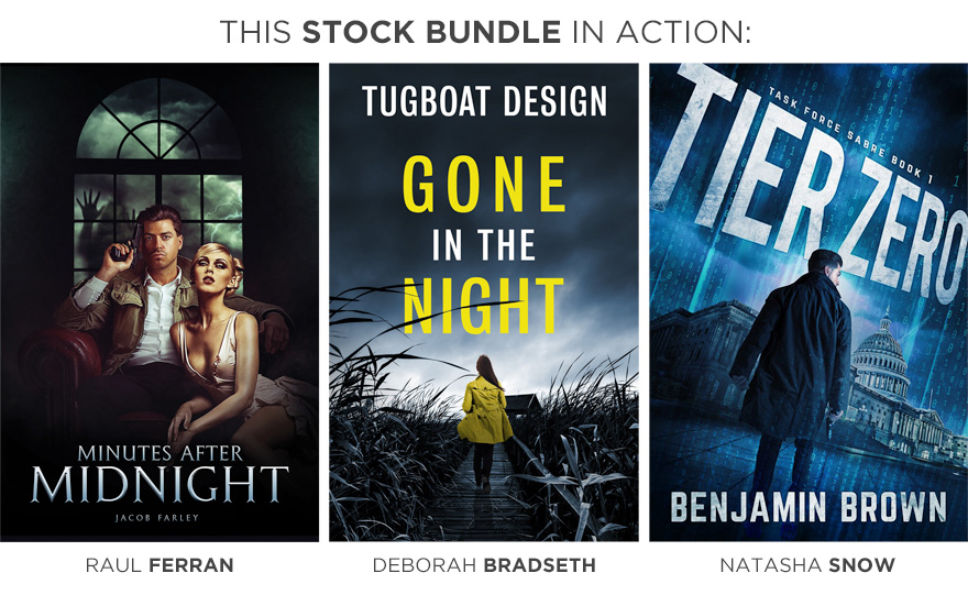 action thriller 1 customer cover stock photo showcase