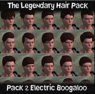 The Legendary Hairpack / Легендарный пак причёсок