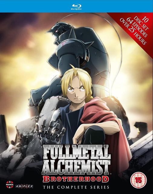 Fullmetal Alchemist Brotherhood Blu-ray 10Bit 1080p Tri Áudio