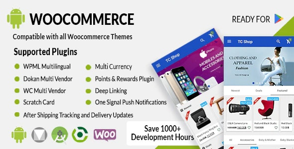 CodeCanyon - Android Woocommerce v1.9.2 - Universal Native Android Ecommerce / Store Full Mobile Application - 21952065 - NULLED