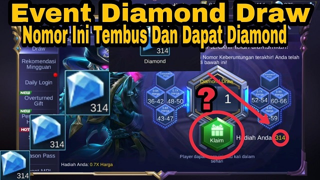 Kode Diamond Draw ML Hari Ini Terbaru Gratis Dapatkan Disini!