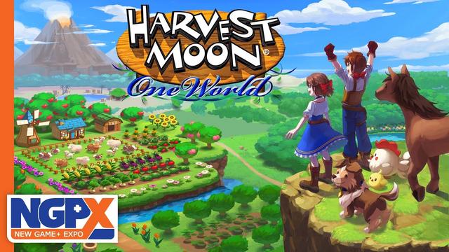 牧場模擬遊戲《豐收之月 一個世界》的首個預告片公開 Image