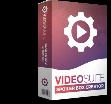 VideoSuite Spoiler Box Creator