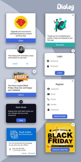 Material Design - Flutter Ui Kit Android - 3