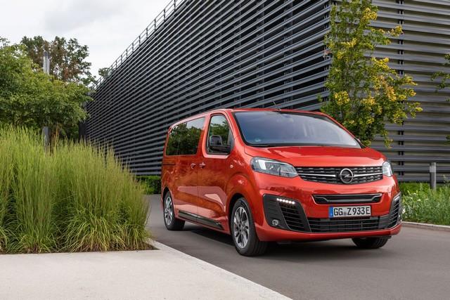 De l'électricité dans l'air : l'Opel Zafira-e Life tout électrique en vente à partir de 51 500 euros bonus environnemental déduit Opel-Zafira-e-512830