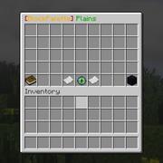 Plains tab of GUI