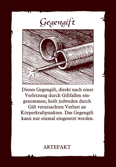 Artefakt-Gegengift