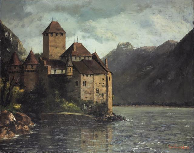Gustave-Courbet-Le-ch-teau-de-Chillon.jp