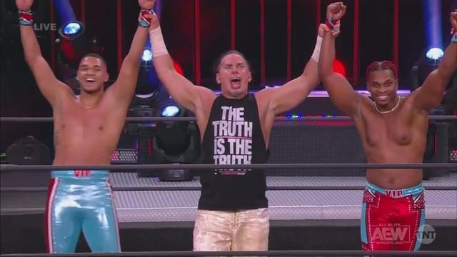 Private Party y Matt Hardy vencen a Matt Sydal AEW 20 enero