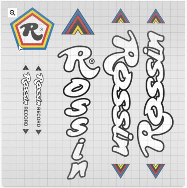 Rossin Record 1978 Rossin-decals